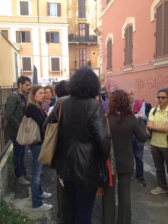 Al quartiere San Lorenzo - Beni confiscati e mai riassegnati