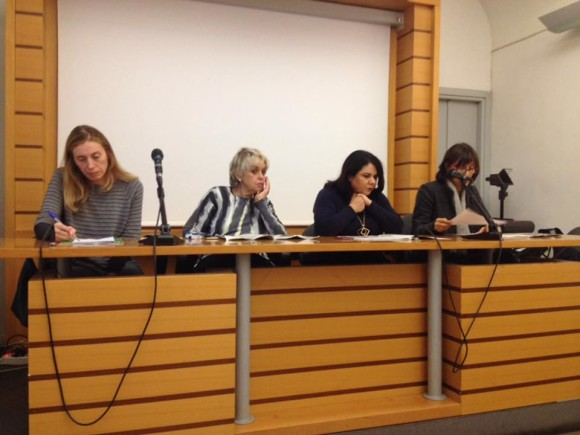 Alla Casa Internazionale delle Donne con Bia Sarasini, Michela Murgia e Norma Rangeri per il numero speciale de Il Manifesto sulle donne