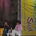 Con Gabriella Stramaccioni (Libera)