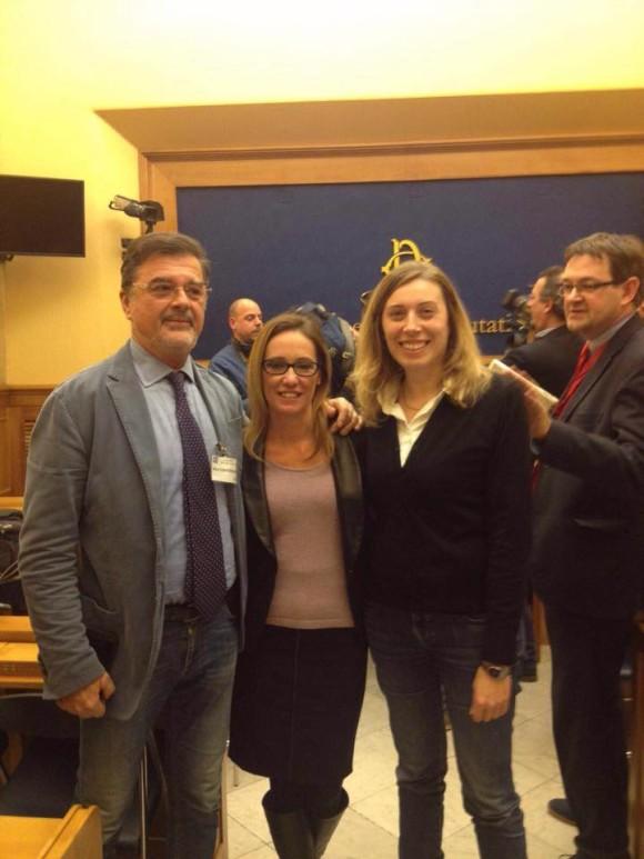 Con Ilaria Cucchi e Fabio Anselmo per l'Istituzione di una Commissione d'inchiesta sulla tortura