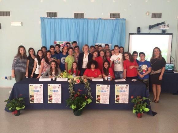 Con gli studenti e le studentesse di Taranto per parlare di antimafia