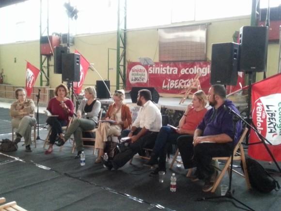 Crisi, sfratti, nuove povertà alla festa provinciale di Sel Torino