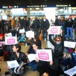 Flash mob, stazione Termini